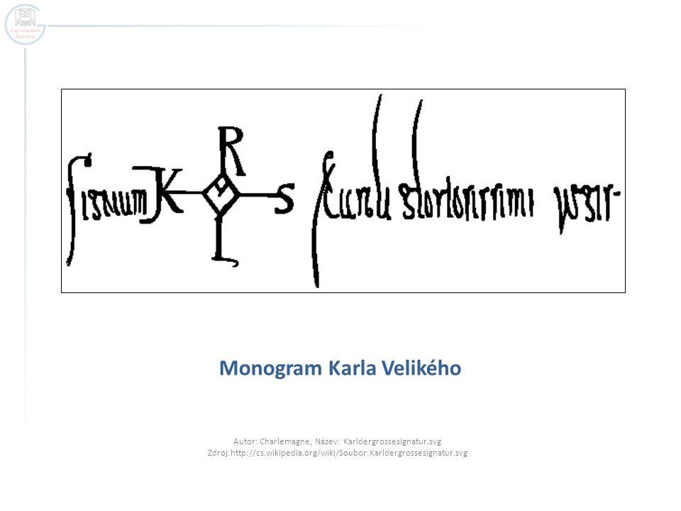 Monogram Karla Velikého