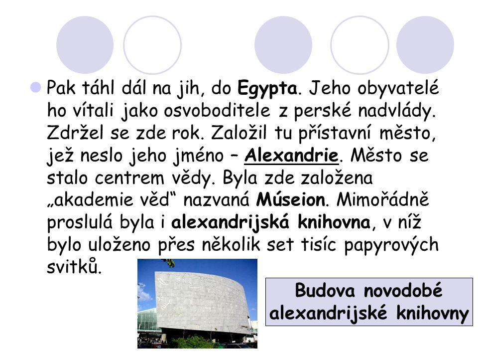 alexandrijské knihovny