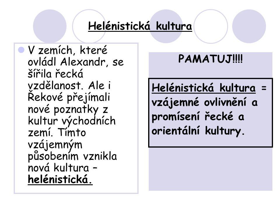 Helénistická kultura