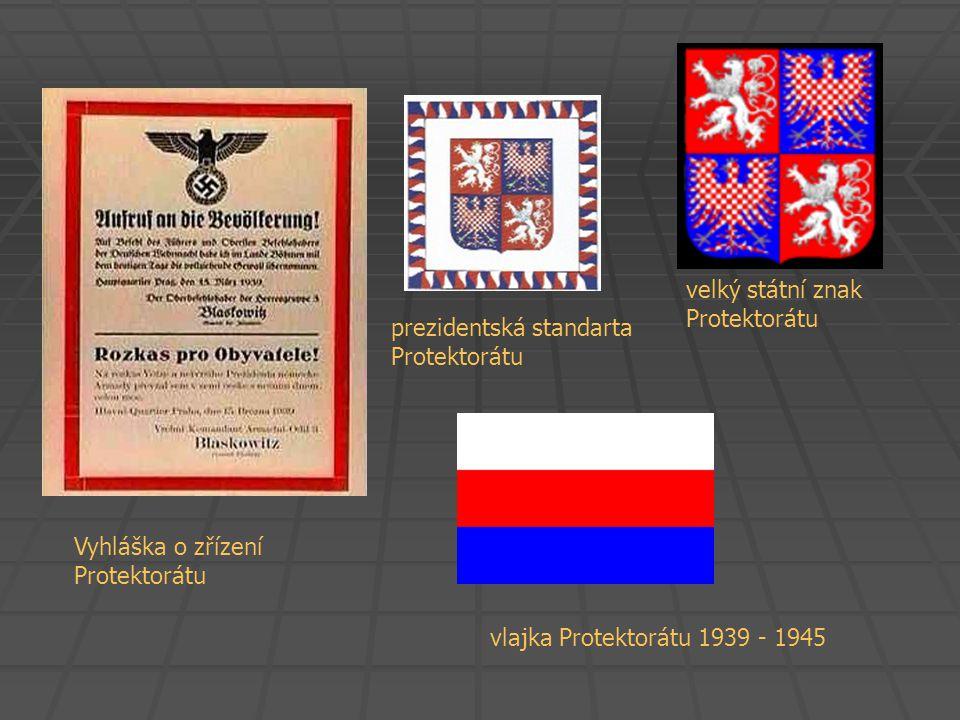 velký státní znak Protektorátu