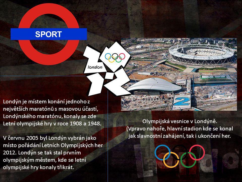Olympijská vesnice v Londýně.