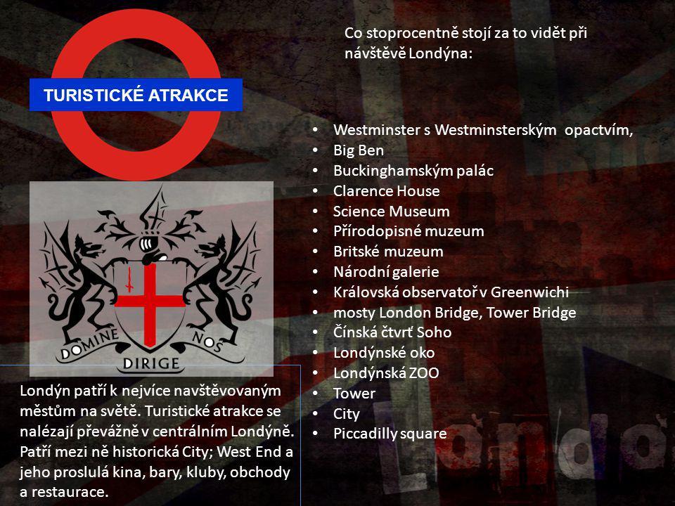 Co stoprocentně stojí za to vidět při návštěvě Londýna: