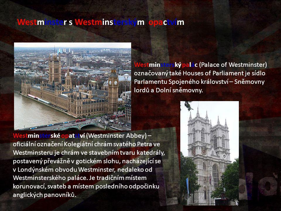 Westminster s Westminsterským opactvím