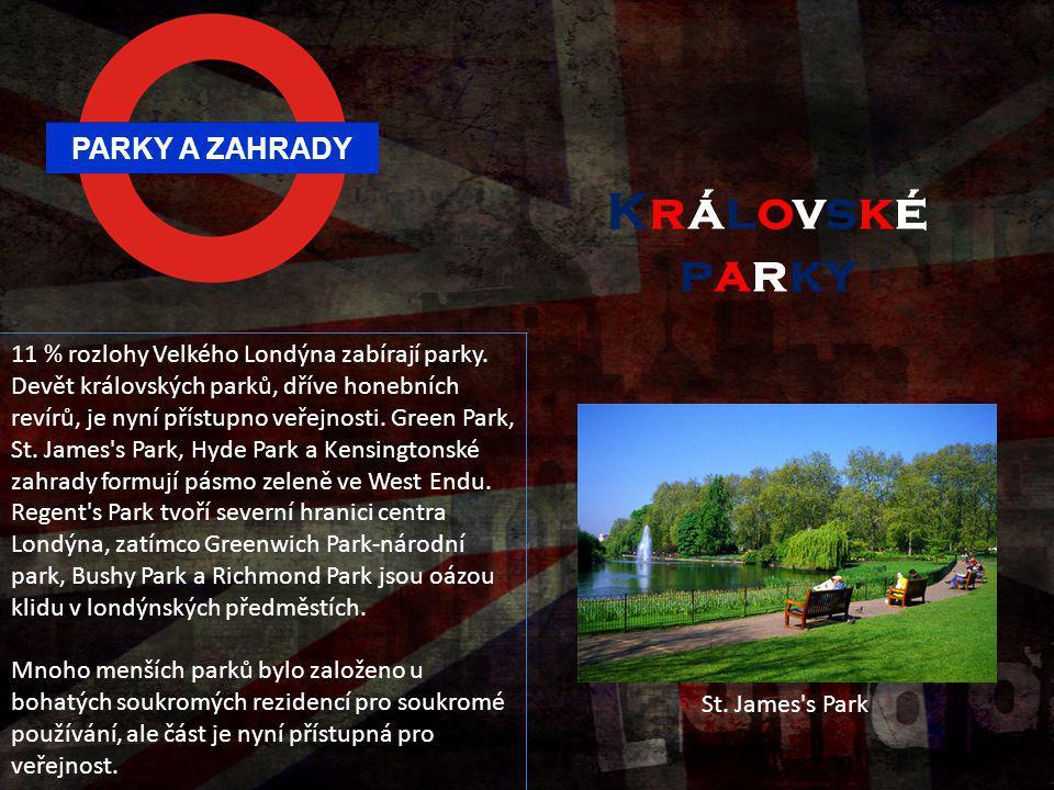 Královské parky PARKY A ZAHRADY
