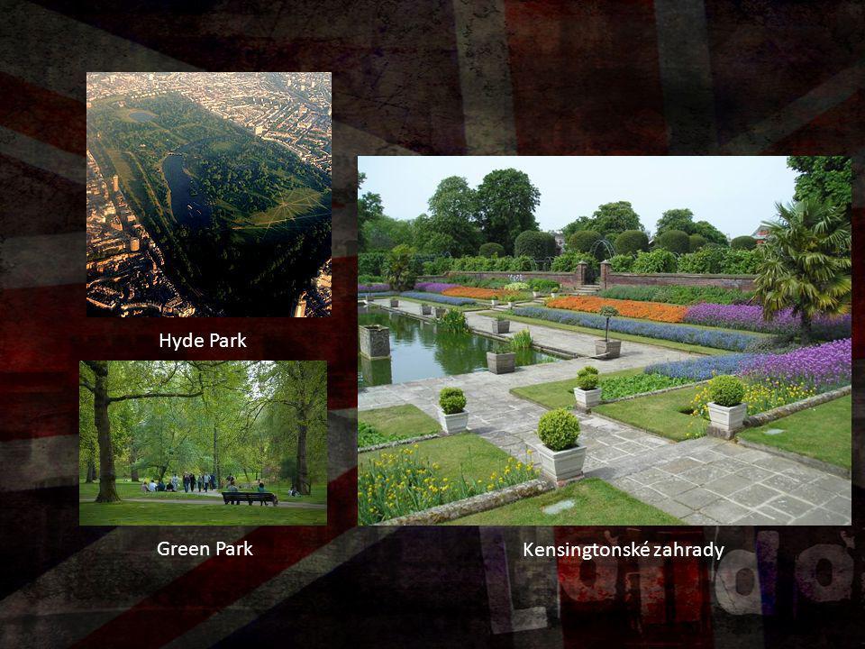 Kensingtonské zahrady