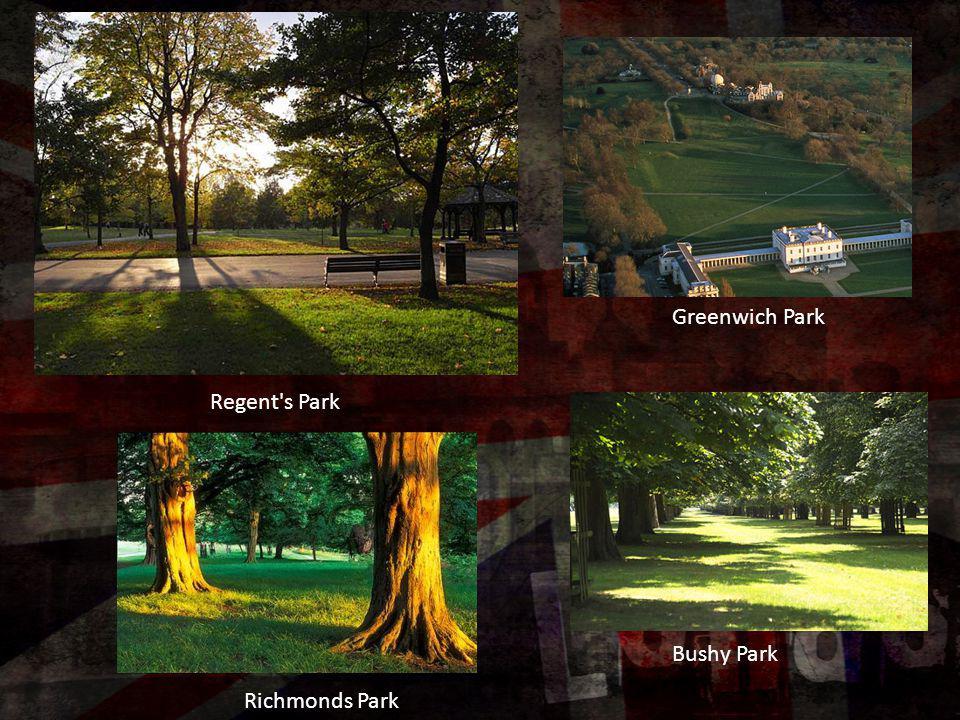 Greenwich Park Regent s Park Bushy Park Richmonds Park