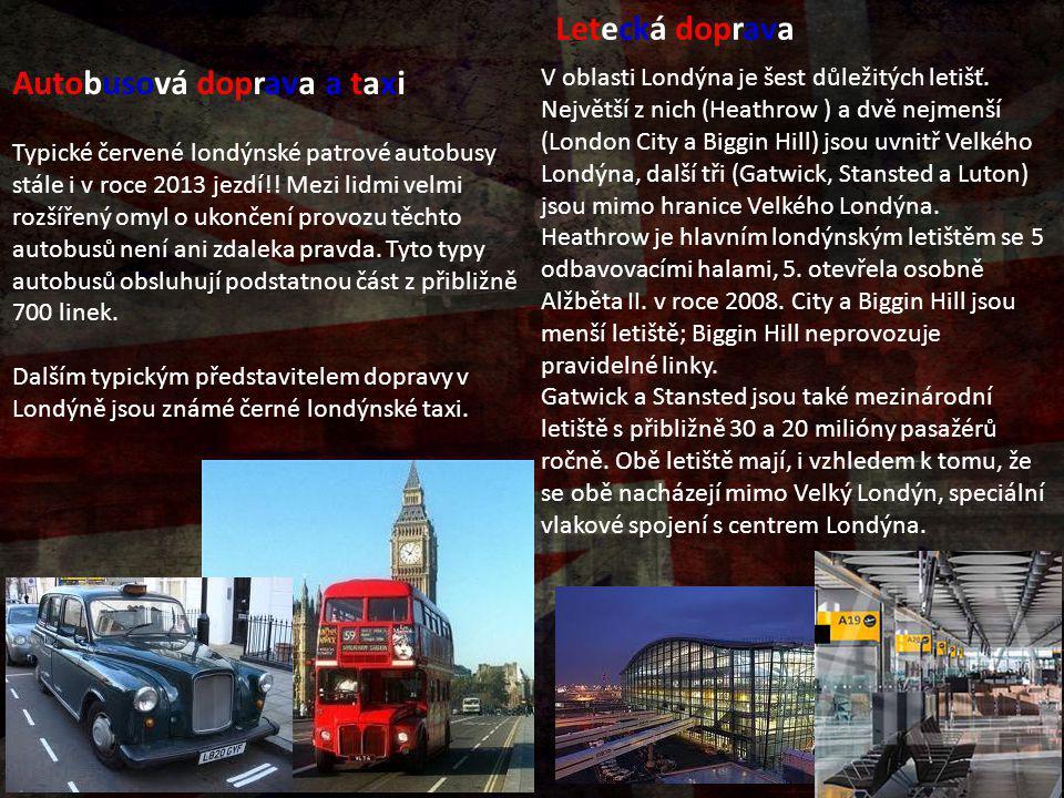 Autobusová doprava a taxi