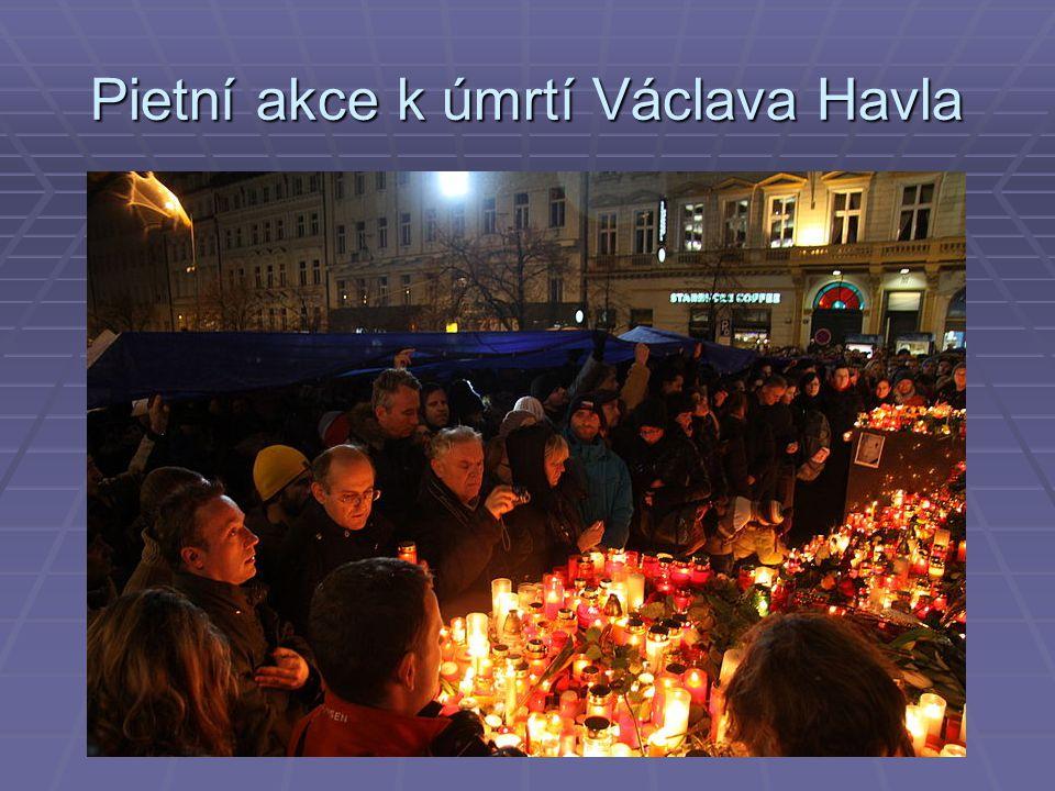 Pietní akce k úmrtí Václava Havla