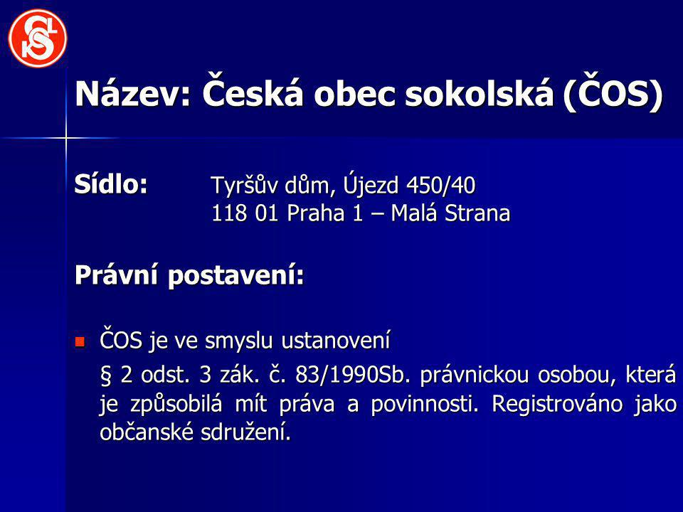Název: Česká obec sokolská (ČOS)