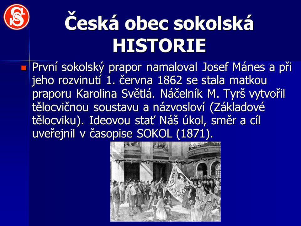 Česká obec sokolská HISTORIE