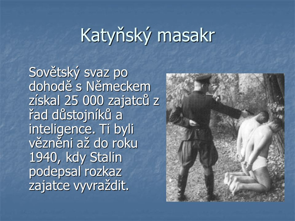 Katyňský masakr