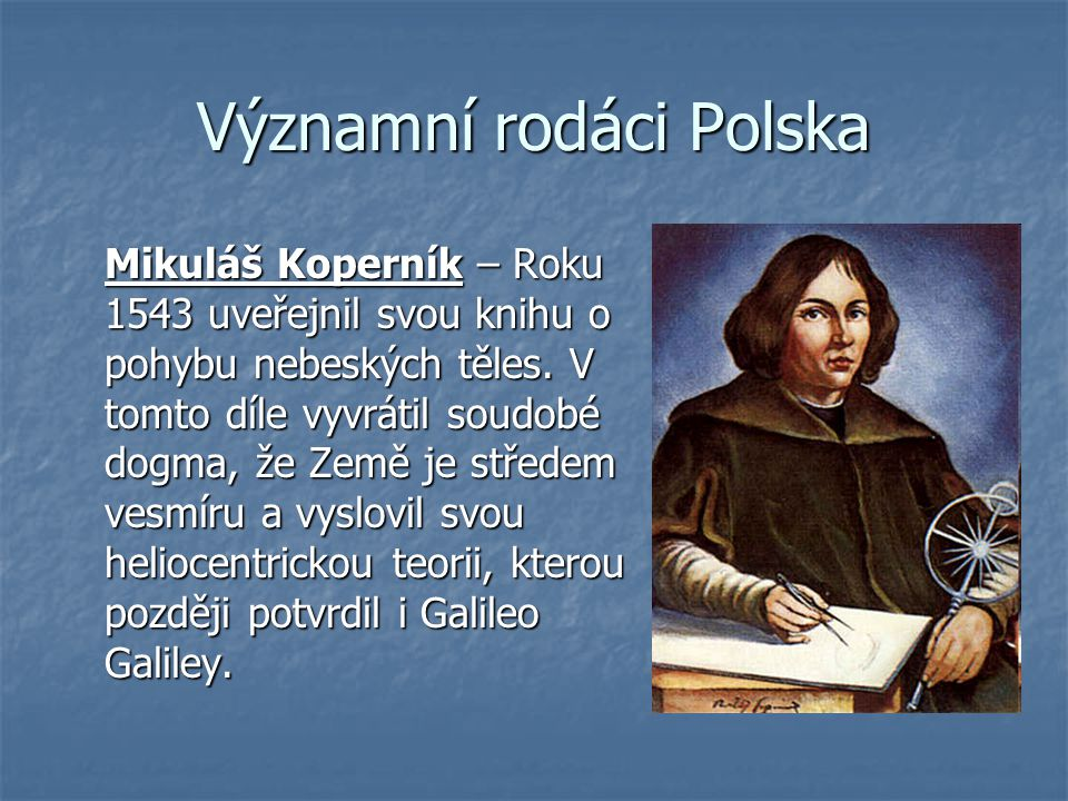 Významní rodáci Polska