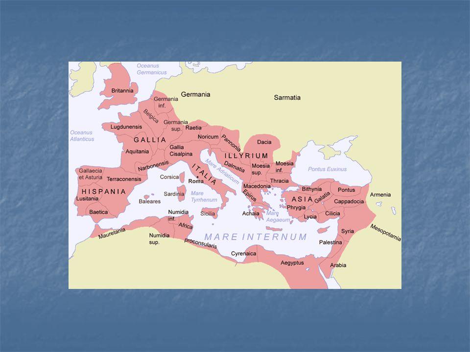 Římské provincie po roce 135 n.l.