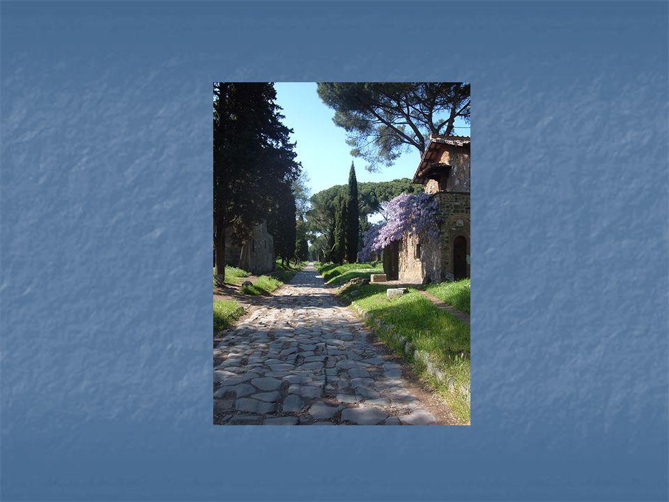 Via Appia byla nejdůležitější silnicí římské říše