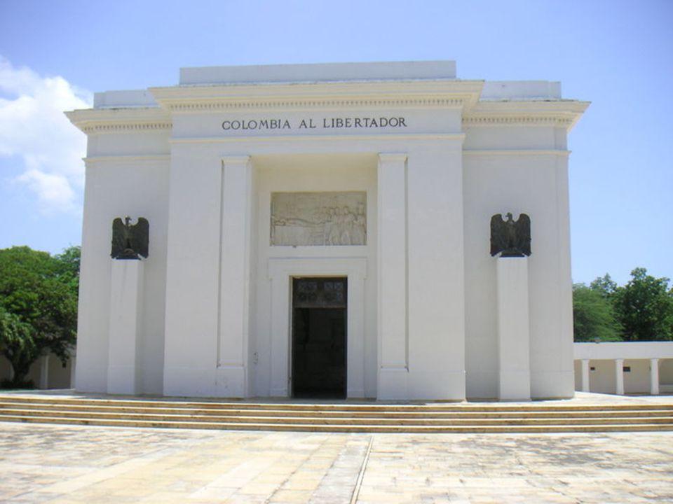 Památník Simóna Bolívara v Santa Martě(Colombia)
