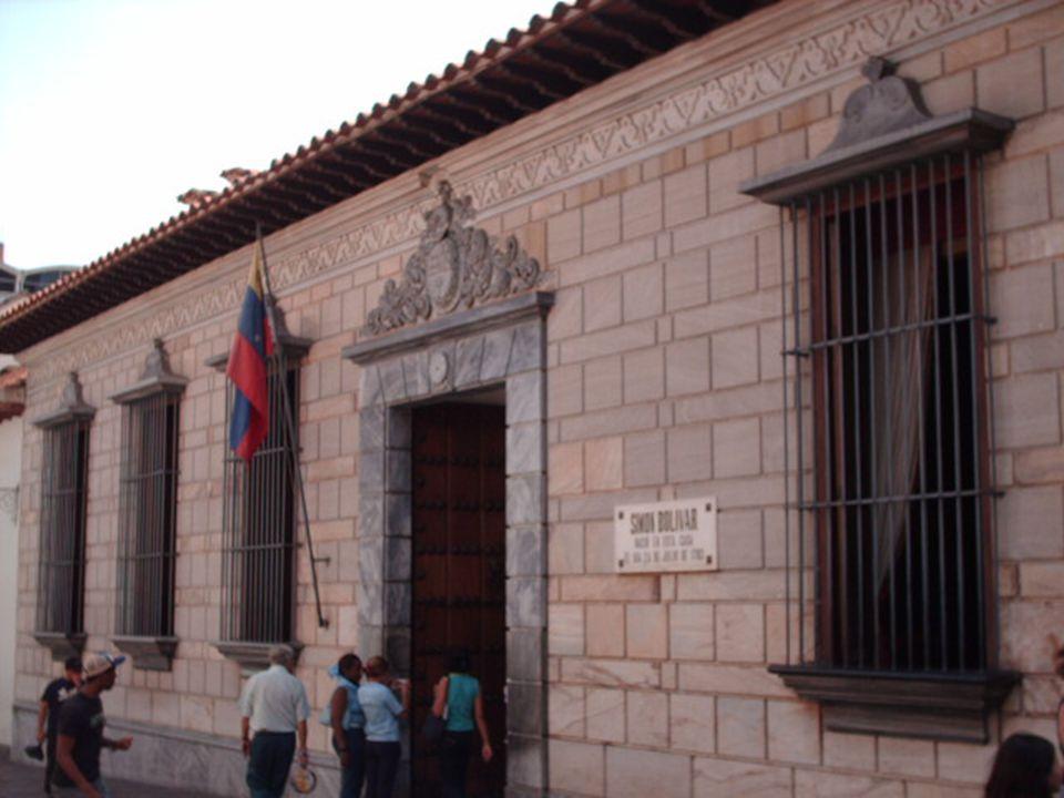 Rodiště Simóna Bolívara, Venezuela