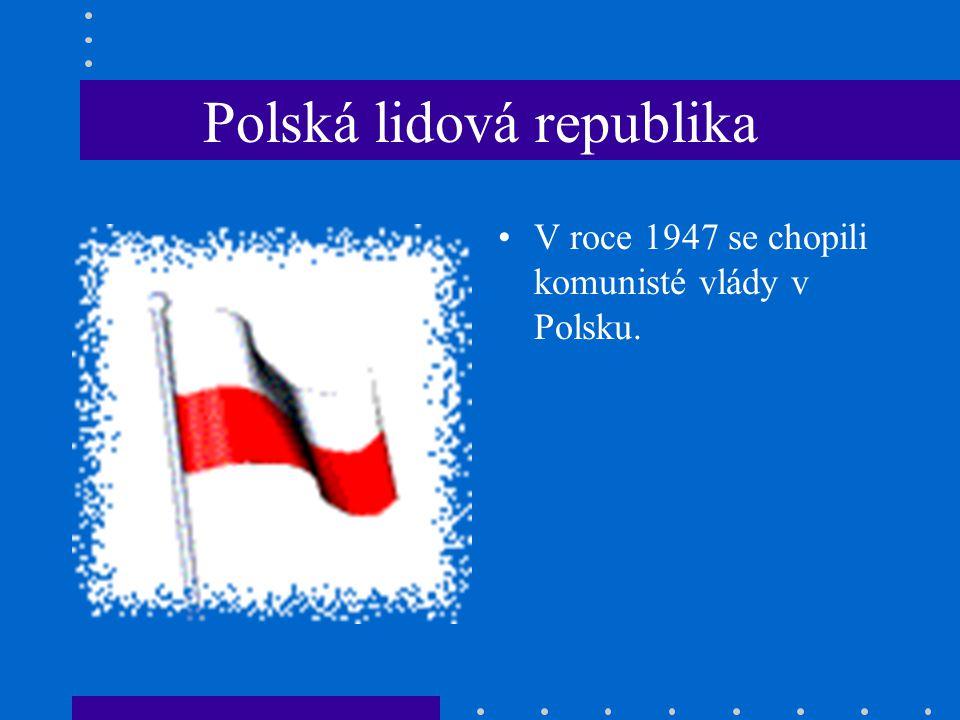 Polská lidová republika