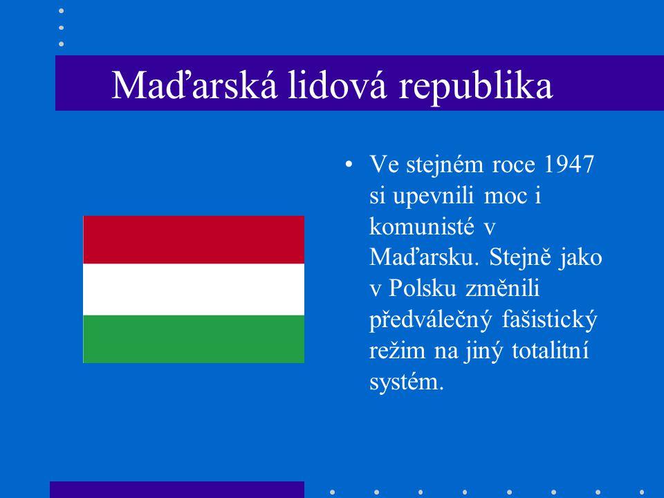 Maďarská lidová republika