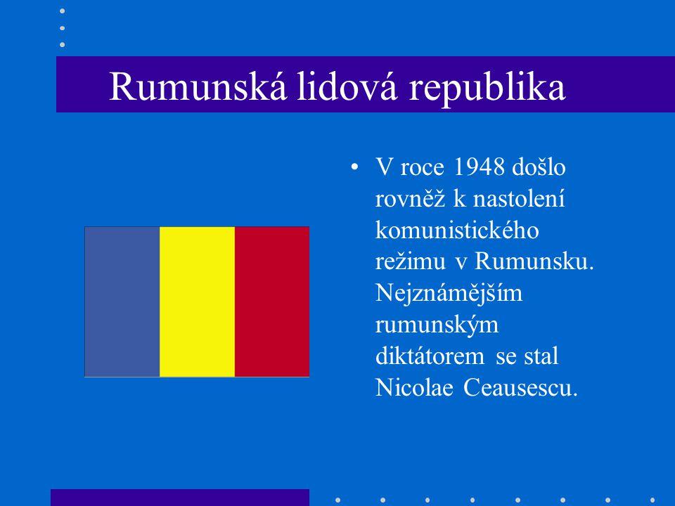 Rumunská lidová republika