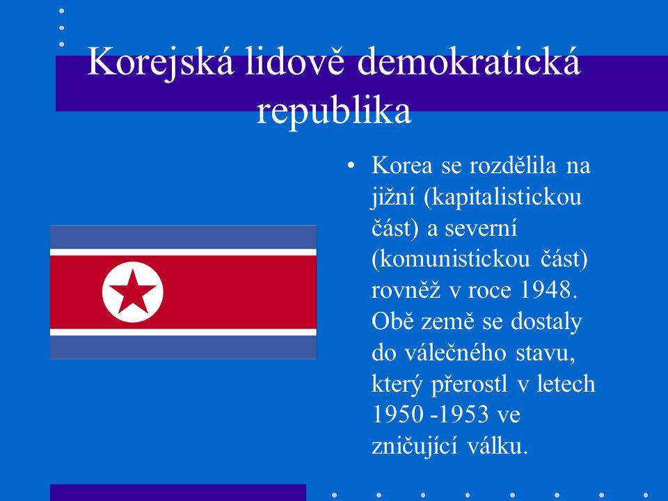 Korejská lidově demokratická republika
