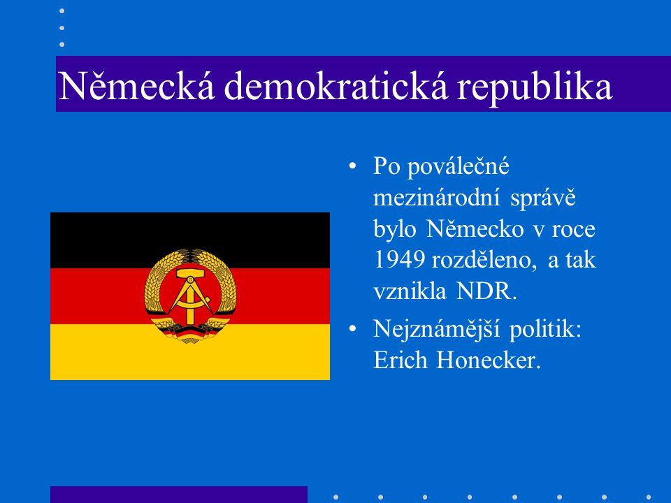 Německá demokratická republika