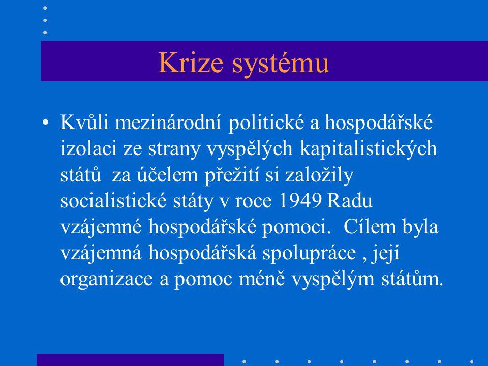 Krize systému
