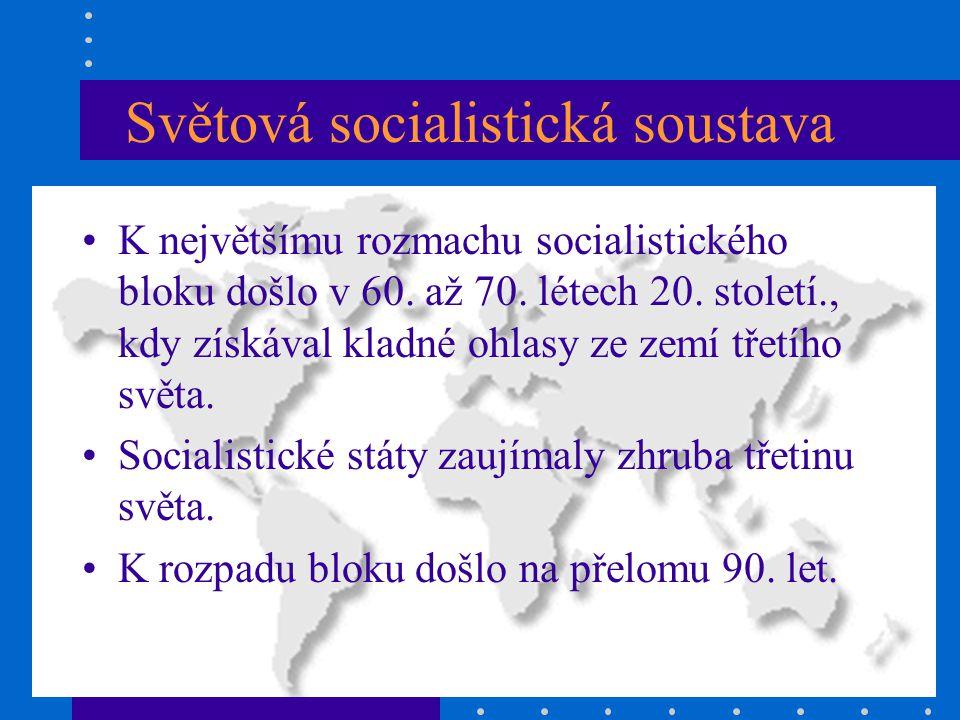 Světová socialistická soustava