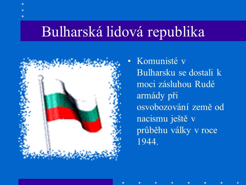 Bulharská lidová republika