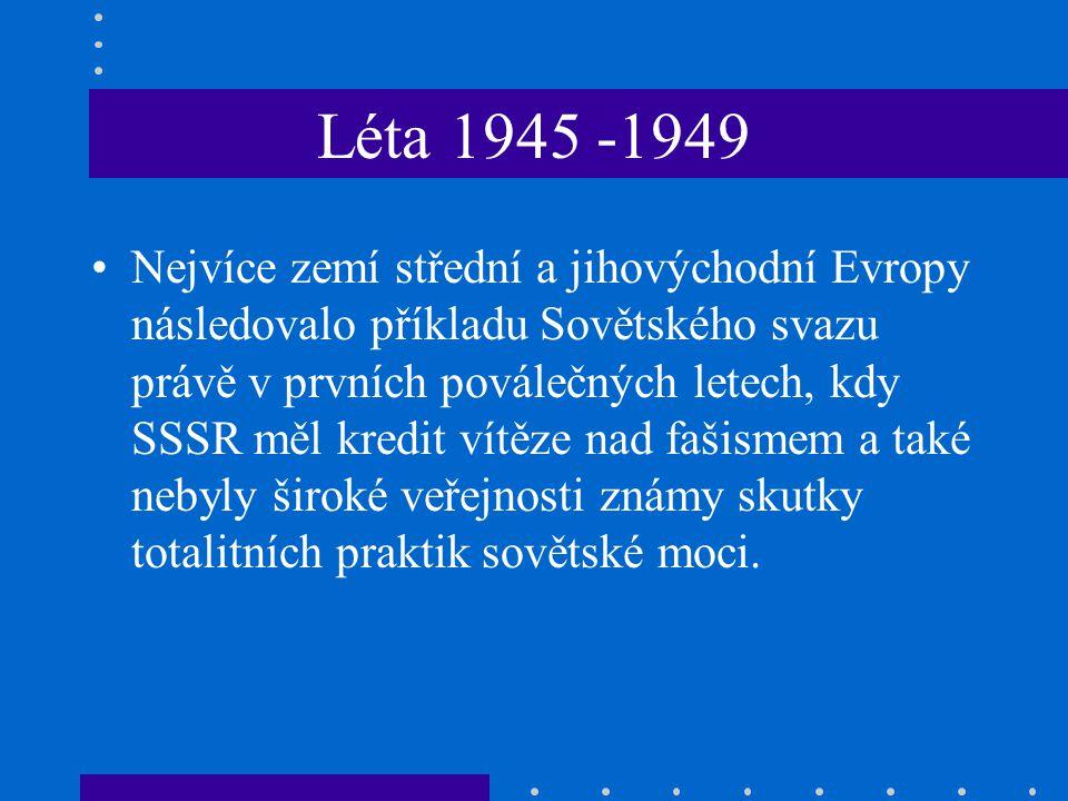 Léta 1945 -1949