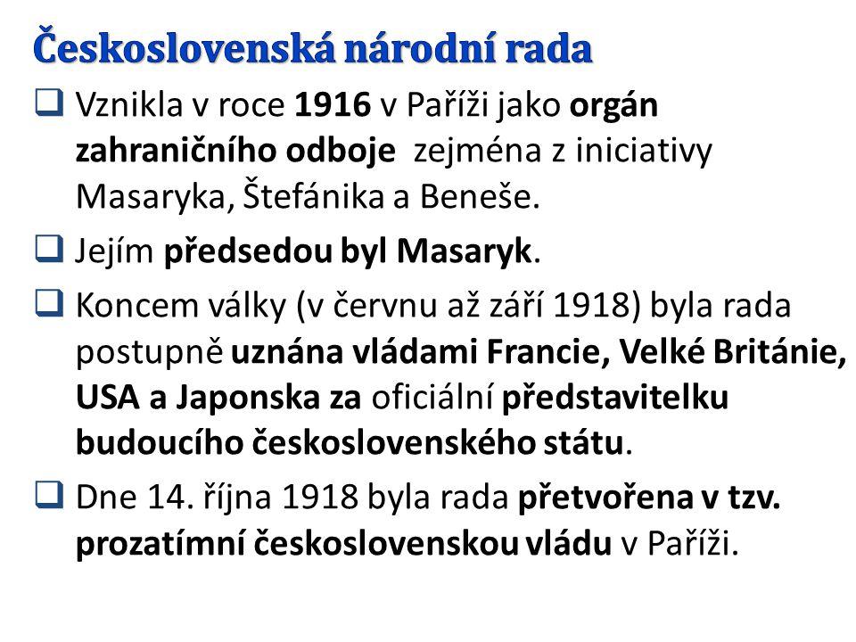 Československá národní rada