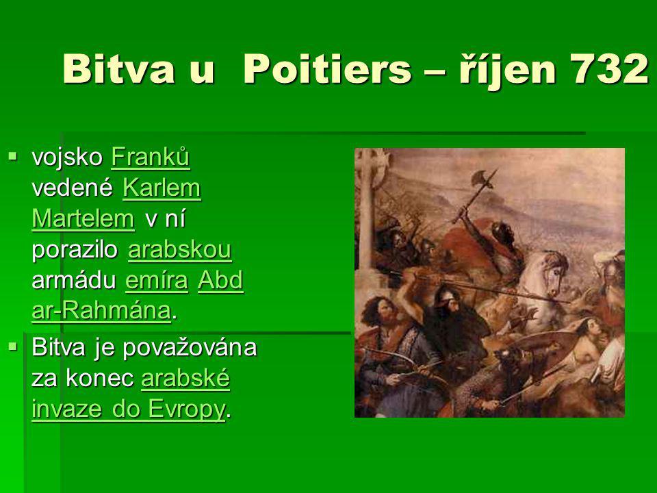 Bitva u Poitiers – říjen 732