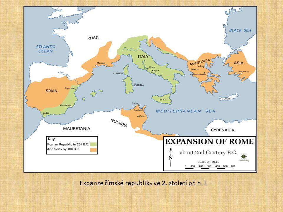 Expanze římské republiky ve 2. století př. n. l.