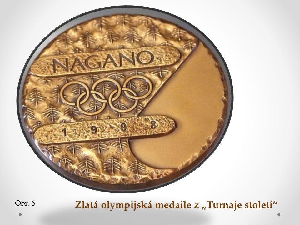 """Zlatá olympijská medaile z """"Turnaje století"""
