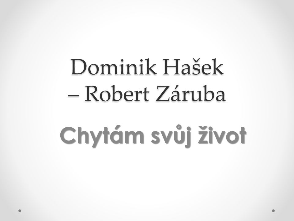 Dominik Hašek – Robert Záruba