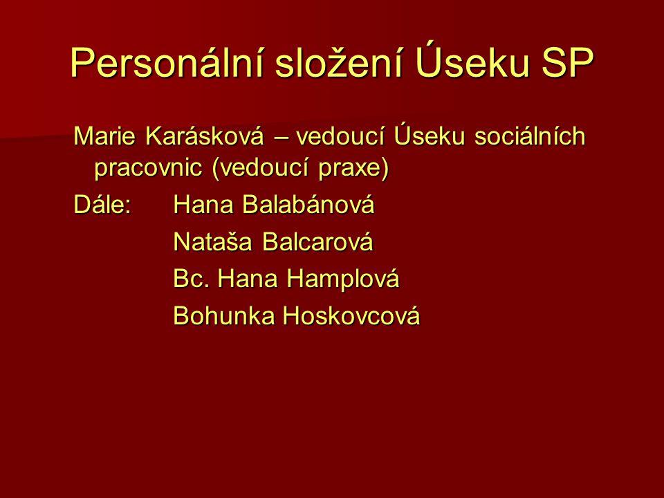 Personální složení Úseku SP