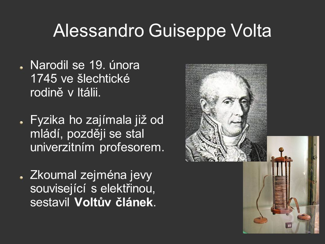 Alessandro Guiseppe Volta