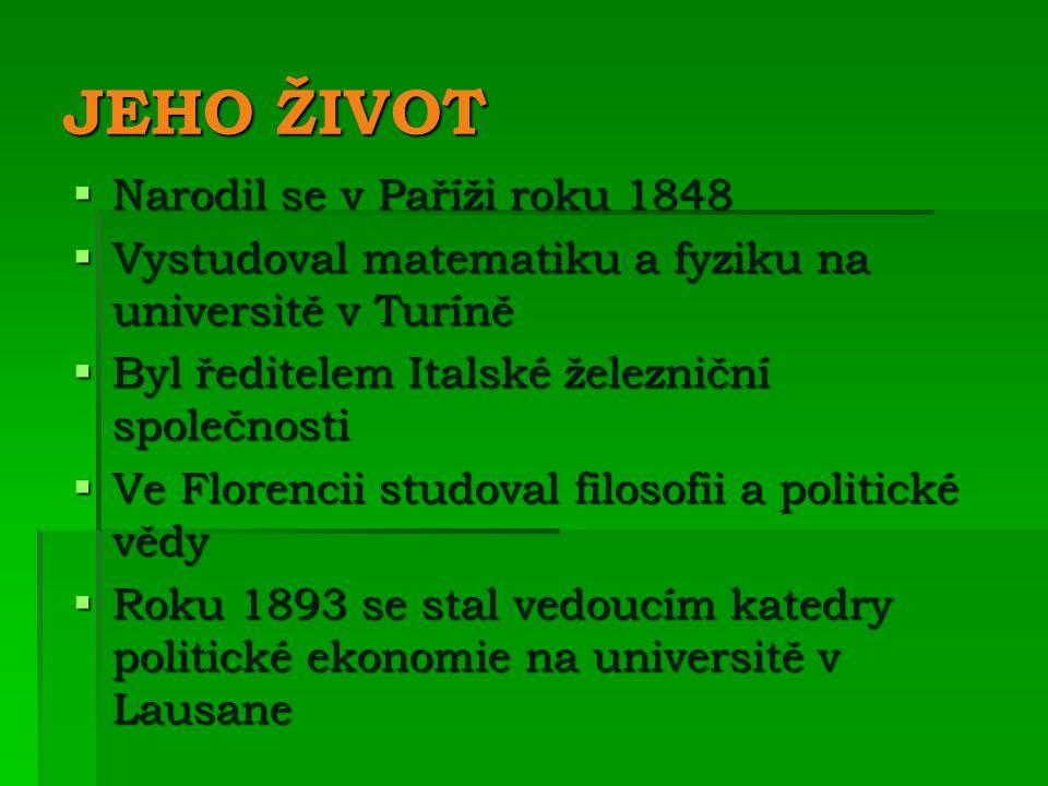JEHO ŽIVOT Narodil se v Paříži roku 1848
