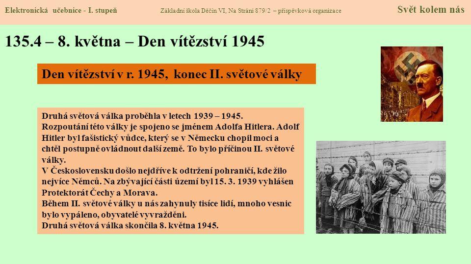135.4 – 8. května – Den vítězství 1945