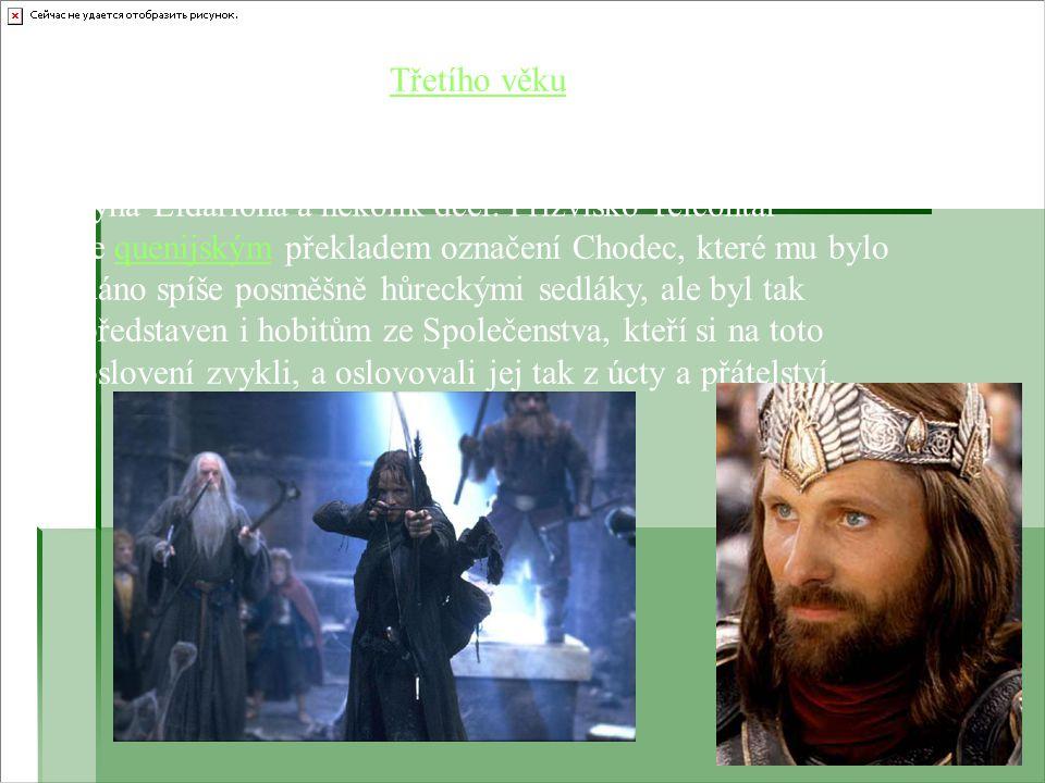Aragorn byl v r. 3019 Třetího věku korunován jako král Elessar Telcontar.