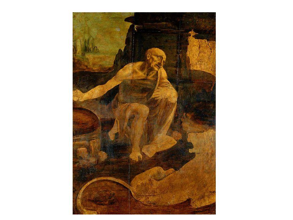 Svatý Jeroným a Madona ve skalách