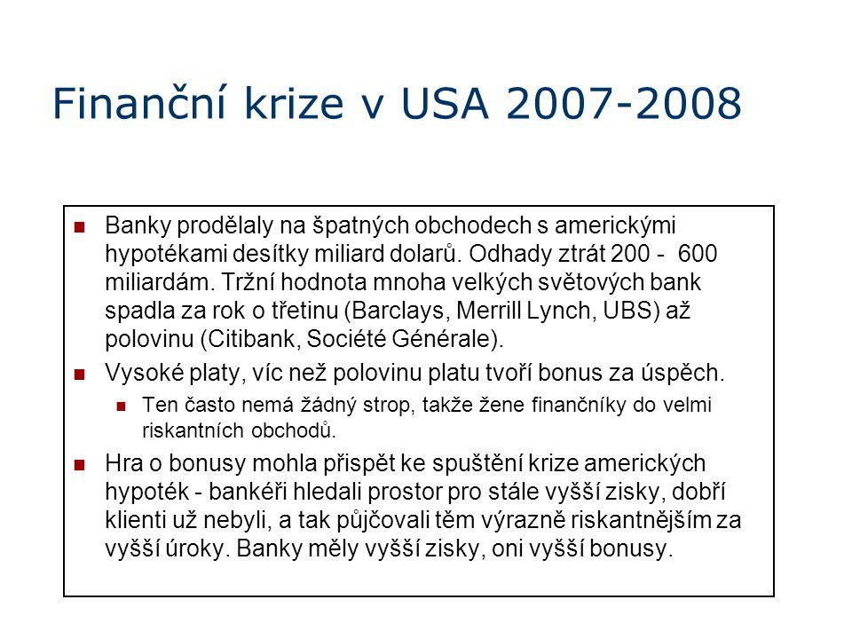 Finanční krize v USA 2007-2008
