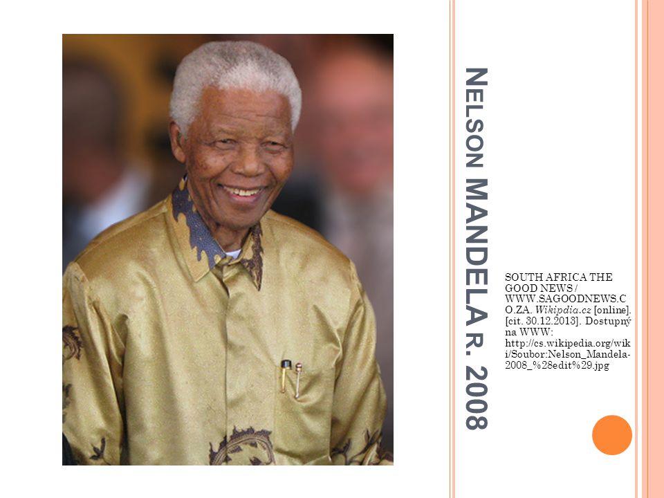 SOUTH AFRICA THE GOOD NEWS / WWW. SAGOODNEWS. C O. ZA. Wikipdia