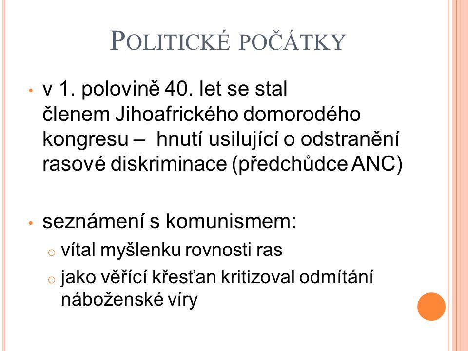 Politické počátky
