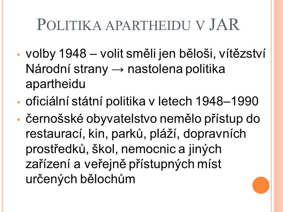 Politika apartheidu v JAR