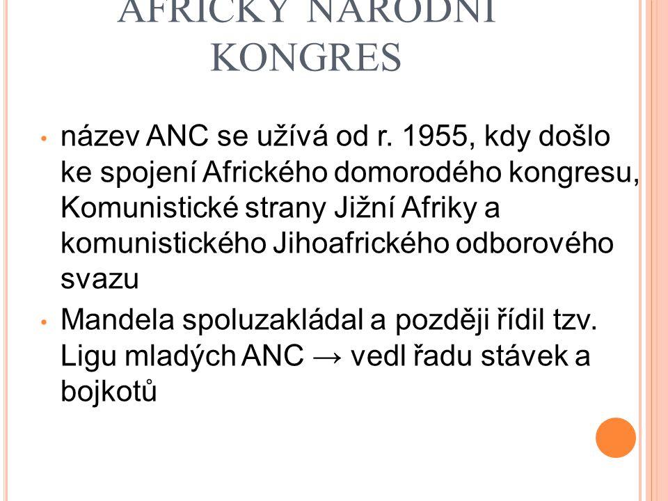 AFRICKÝ NÁRODNÍ KONGRES