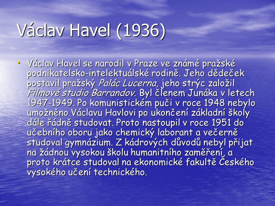 Václav Havel (1936)