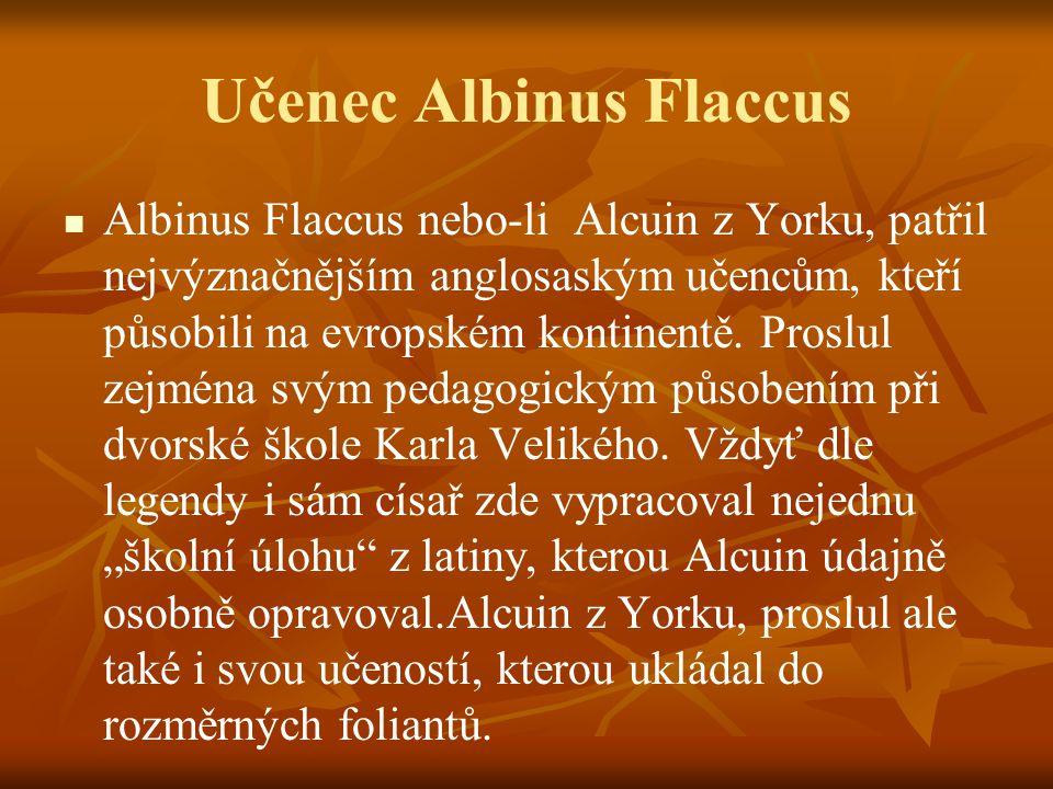 Učenec Albinus Flaccus