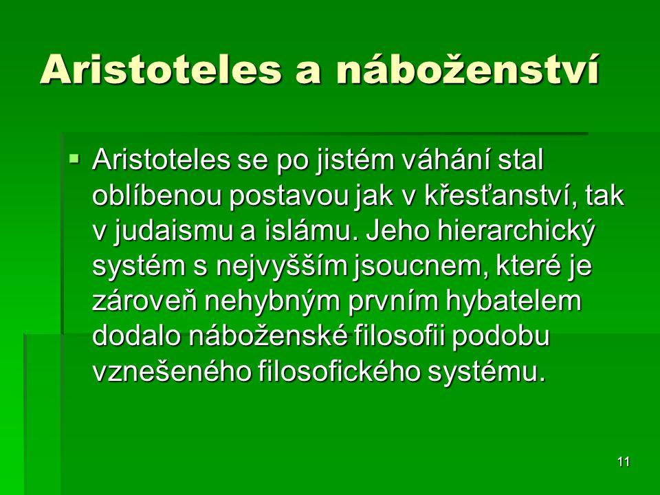 Aristoteles a náboženství