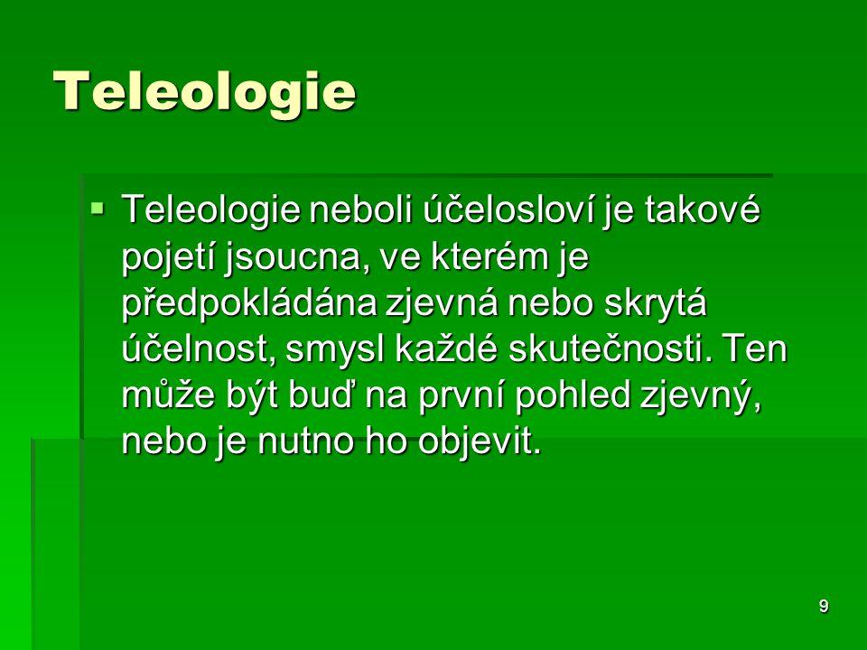 Teleologie
