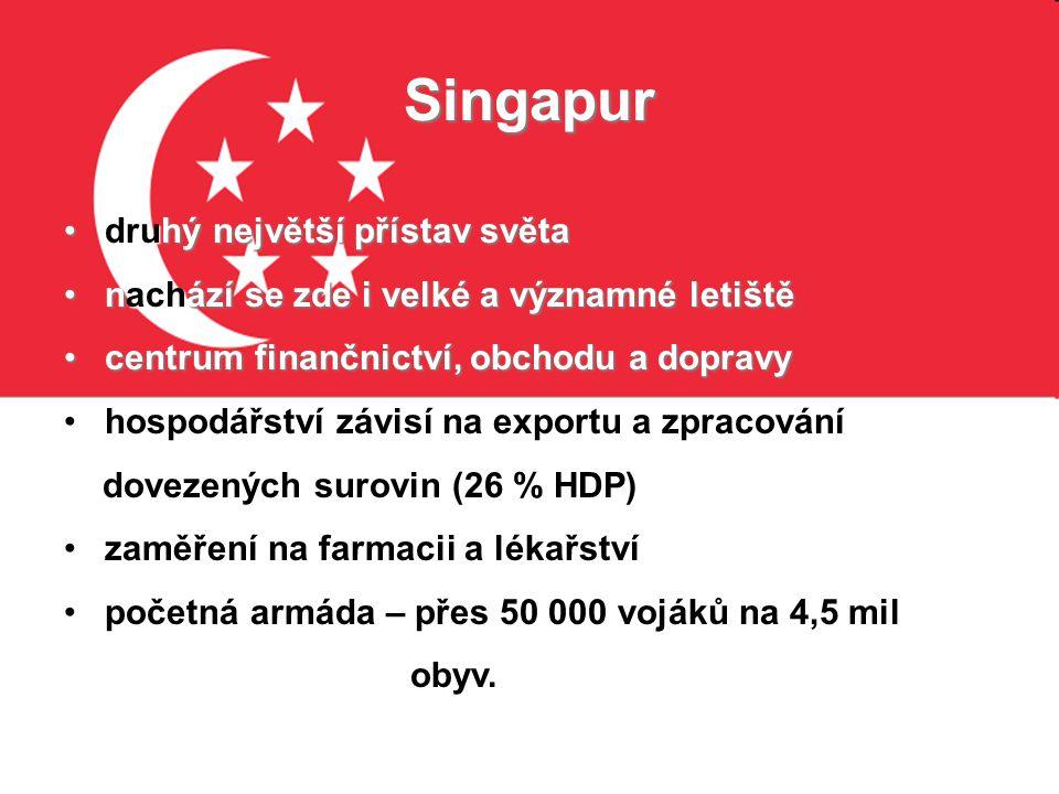 Singapur druhý největší přístav světa
